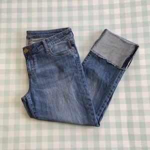 Kut from the Kloth wide cuff capris size 8